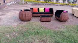 Makuti brand new five seater couches double weaving