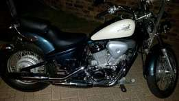 Nice honda steed 400cc 2008 for sale or to swop for car