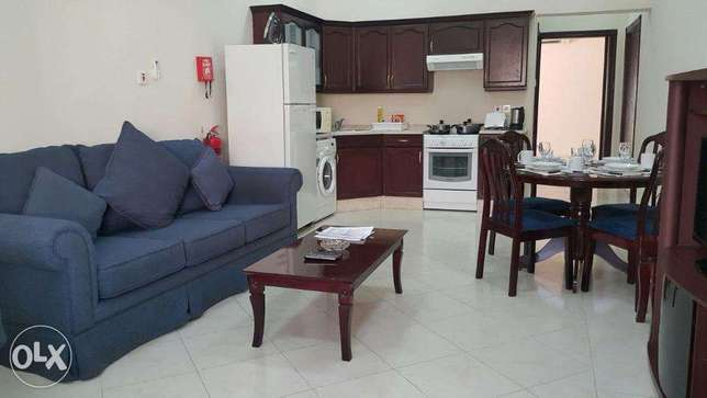 Monthly or yearly-2bhk-5000 QR Al Thumama f/furnished
