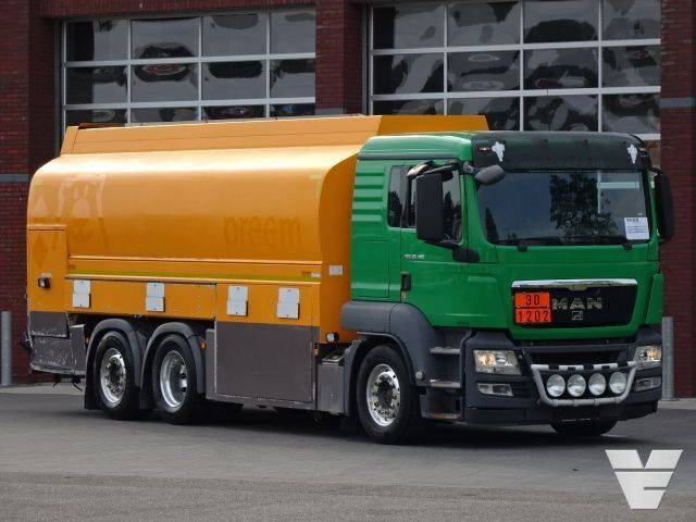 MAN TGS 26.480 6x2*4 ADR, Fully equipped fuel tank truck, - 2013