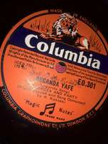 Gramophone We buy 78rpm Old African music (Gramophone)no scratches