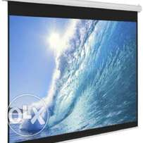 """Manual Wall Mount Screen for Sale 70"""" by 70"""""""