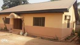 3 Bedroom bungalow for rent in Independence Layout, 600k