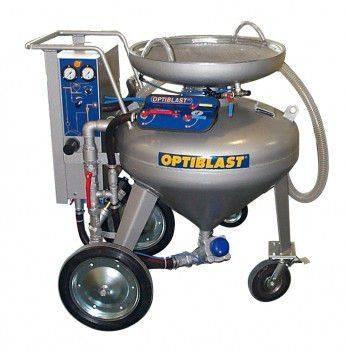 Utiform Obtiblast OBS 150 Sandstrahlgeret  construction - 2013