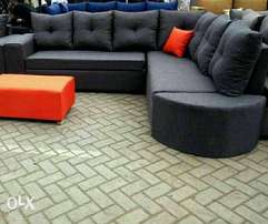 Quality grey sofa weekends sale free transport