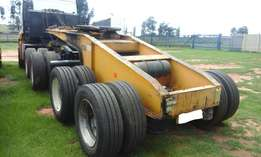 2008 Martin Double Axle Dolly Trailer for Lowbed for sale