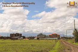 1/8 acre residential plots in Nanyuki Town
