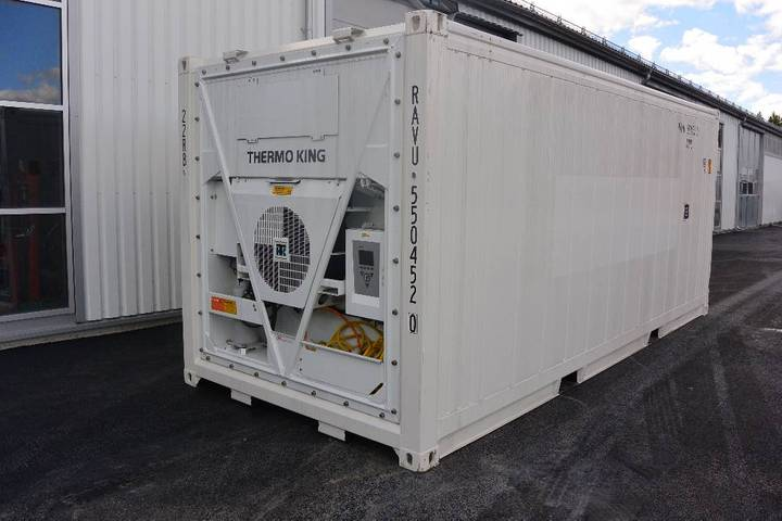 Thermo King Kyl & Frys Container 20fot Obs Helt Ny - 2018