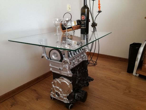 Meble Motoryzacyjne Stolik Z Silnika Licheń Stary Olxpl