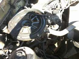 complete toyota 2.O engine and 5speed gearbox 2 fit any 1 ton bakkie