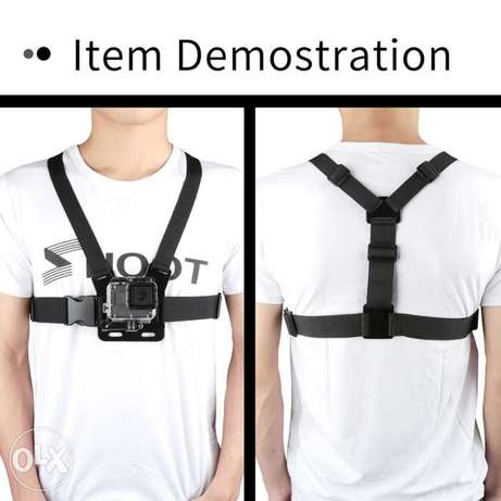 Chest Strap mount belt for Gopro hero And Action Cameras