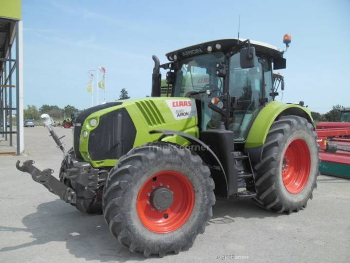 Claas arion 630cis arion 630 cis loc service + arion 630cis - 2016