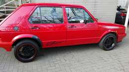Golf 1 2000 model in excellent condition