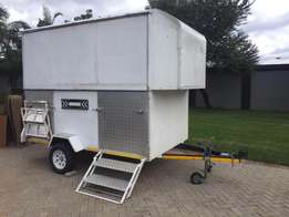 Fully rigged Market trailer FOR SALE - Urgent
