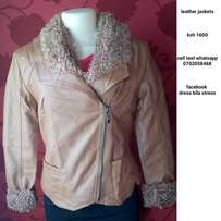 Leather jacket 1,600