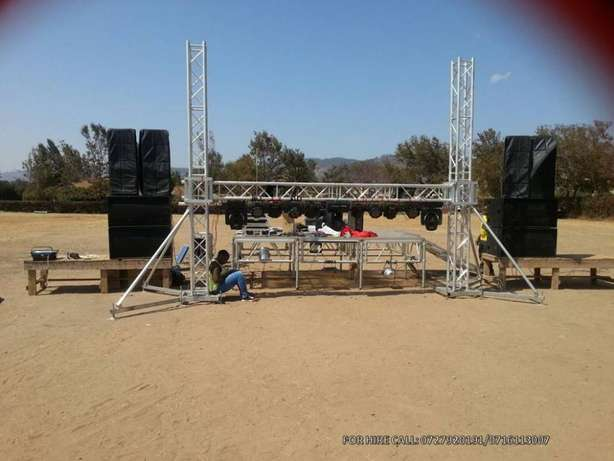 Public address, sound system,lights, led screens,stage & dj services Nairobi CBD - image 7