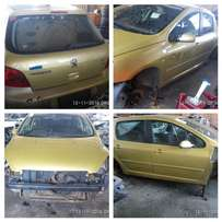 Peugeot 207,208 and 307 stripping for spare parts
