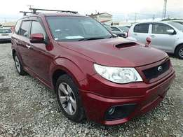 Subaru Forester XT Wine Red