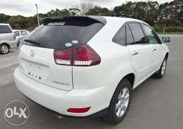 Toyota Harrier 2009 Special Edition Pearl White