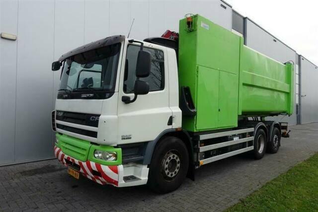 DAF Cf 75.250 6x2 With Translift Nl Registration - 2006