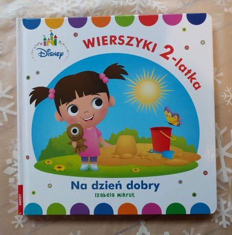 Nowa Książka Disney Maluch Wierszyki 2 Latka Na Dzień