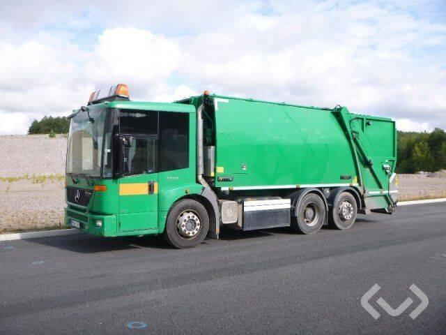 Mercedes-Benz ECONIC 6x2*4 Garbage truck (rear loader) - 14 - 2014