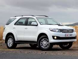 Raised body Toyota Fortuner wanted