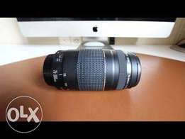 New canon 75-300mm EF lens
