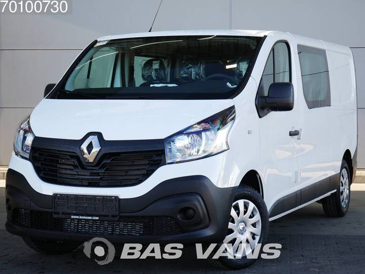 Renault Trafic 1.6 dCi 120PK 3.0T DC Cruise control Airco 6 Zits ... - 2019