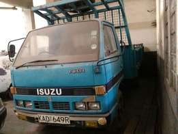 Isuzu 3.3 Pick-Up KAD 1993 Blue Colour Diesel Manual Transmission
