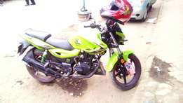 Good as new motorcycle