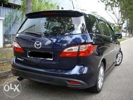 Mazda Premacy 2012 model, 2000cc with sunroof and leather seats