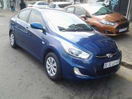 2015 Hyundai Accent 1.6gls with 36000km