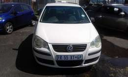 VW Polo 1.6 Colour White 5 Doors Model 2008 Factoty A/C & CD Player