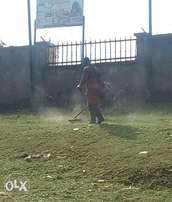 Site clearing,lawn mowing etc.