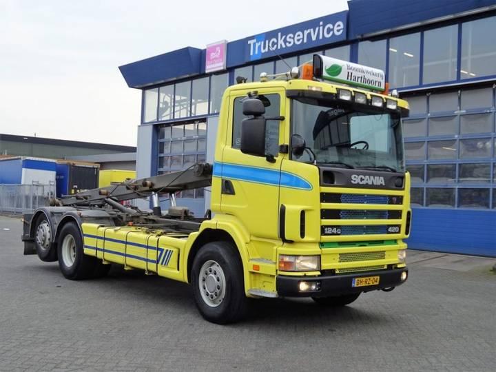 Scania R124 Gb6x2*4na 420 - 1999