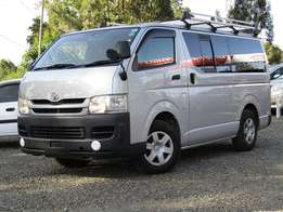 Toyota Hiace Silver in Color