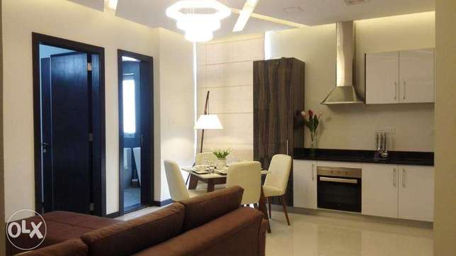 luxury stylish 1 b/r fully furnished apartment سار -  2