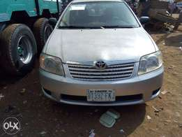 Used Toyota Corolla 2004 Silver For Sale