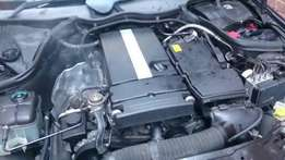 Mercedez m271 engine striping for spares