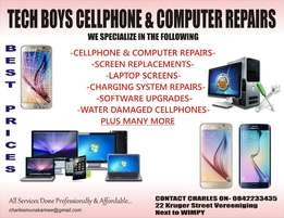 laptop and cellphone repairs in vereeniging