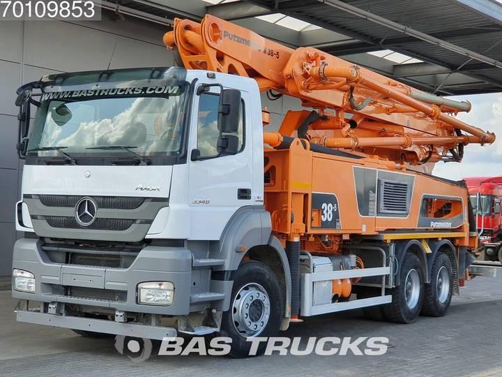 Mercedes-Benz Axor 3340 K 6X4 Putzmeister 38-5 Manual Big-Axle Steelsus... - 2016