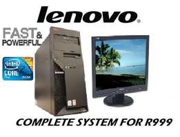 Pre-end of year sale lenovo system Sale ( Tower or desktop )