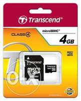 Original Transcend Memory Cards