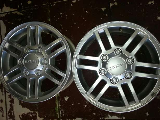 "16""inch magrims for lsuzu bakkies on sale in very good condition. Pretoria West - image 3"