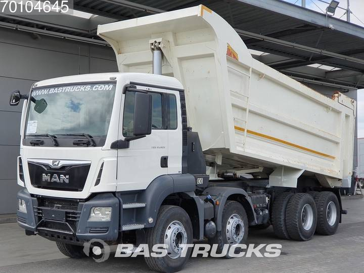 MAN TGS 41.420 M 8X4 Big-Axle Steelsuspension Euro 6 - 2017