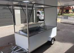 Food Truck Food Trailer Ice Cream Cart