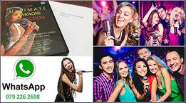 5000 Karaoke Songs with FREE delivery