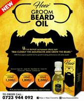 Heez groom beard oil.