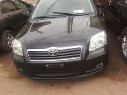 Foreign used Tokunbo 2006 Toyota Avensis Wagon, in perfect working con